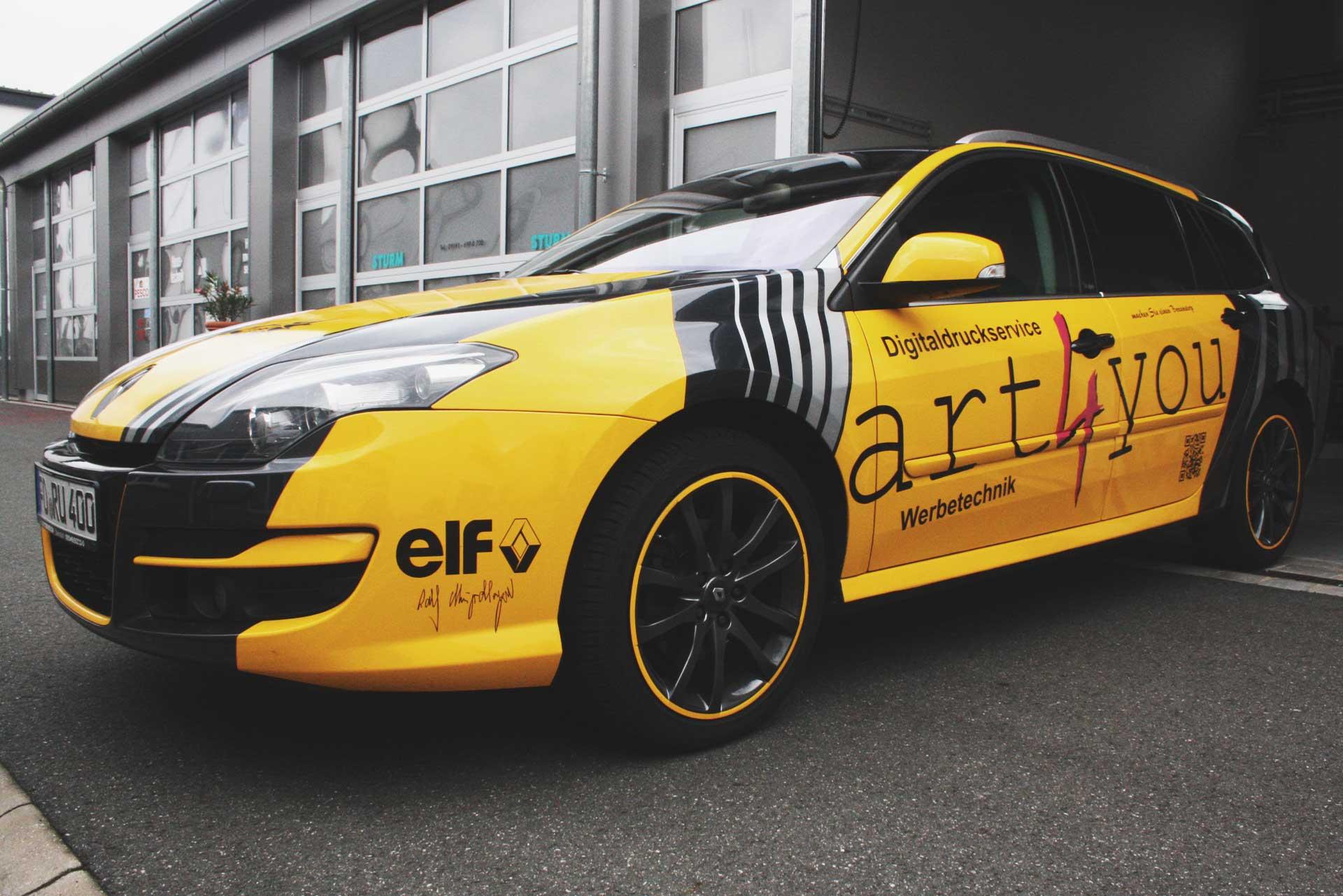art4you Fahrzeugbeschriftung